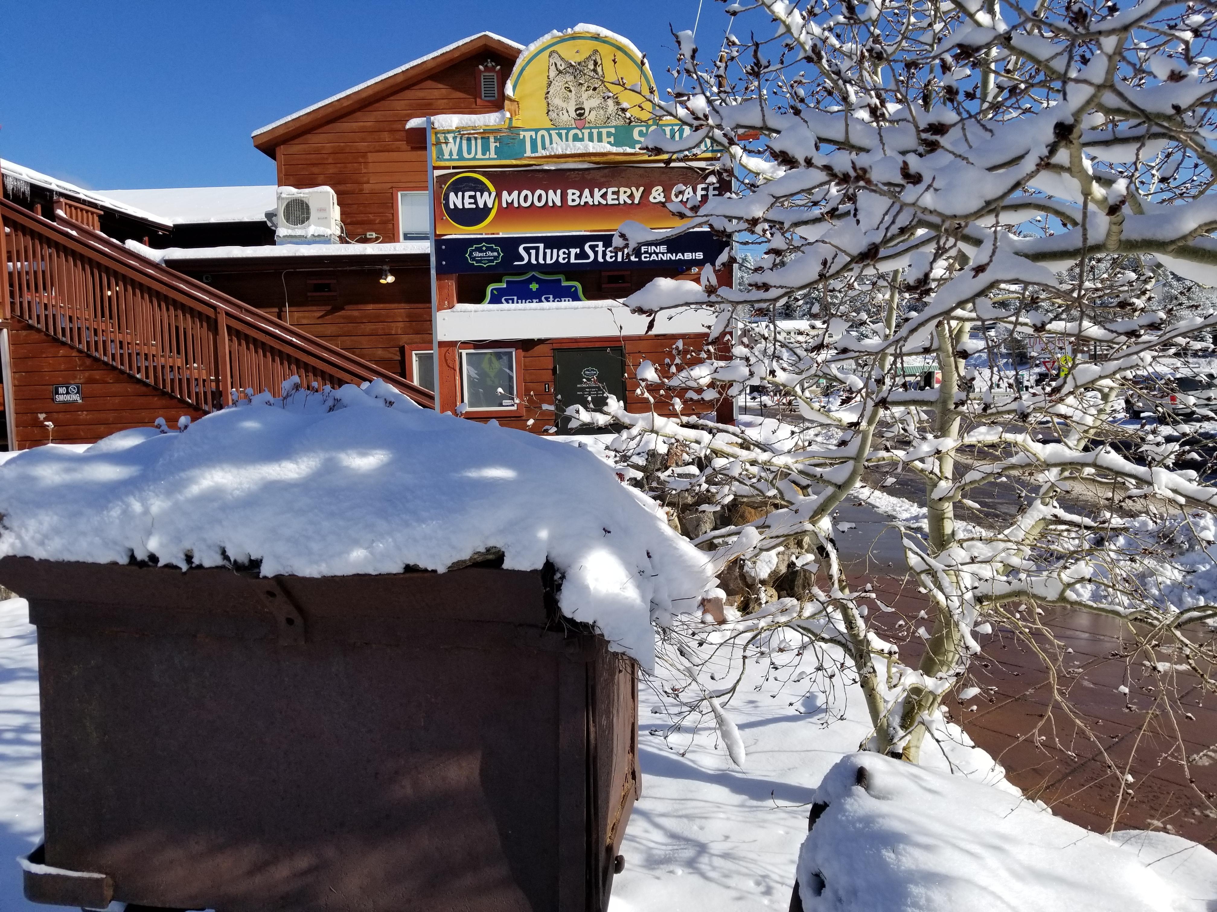 Winter Nederland Boulder