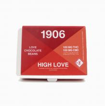 1906 High Love Beans | 1:1 Sativa 100mg Rec