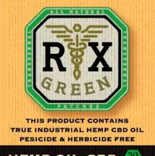 Rx Green High CBD Patch | 30mg Med
