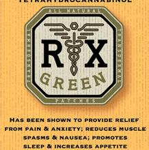 RX Green THC Hybrid Patch