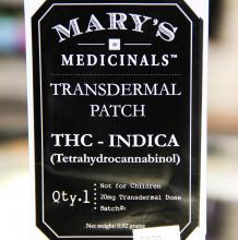 Mary's Medicinals Patch | Indica 20mg Med