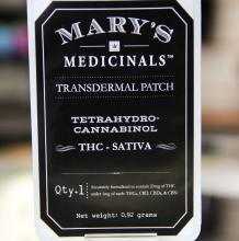 Mary's Medicinals Patch | Sativa 20mg Med