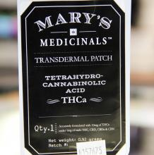 Mary's Medicinals THCa Patch | 10mg Med