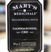 Mary's Medicinals CBD Patch | 10mg Med