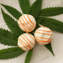 Elbe's, Orange Dreamsicle Cakeballs, 45mg