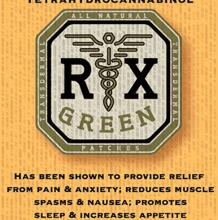 RX Green THC Sativa Patch