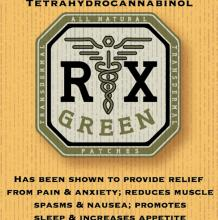 RX Green THC:CBD Patch