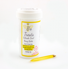 B's Treats Honey Stick 4pk | 100mg Med
