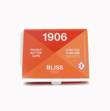 1906 Bliss Dark Chocolate Peanut Butter Cups | 1:1 20mg Rec