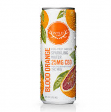 Blood Orange Hemp Sparkling Water, 25mg