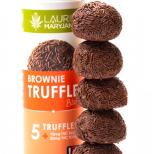 Brownie Truffles, 50mg