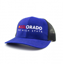 Coolorado Trucker Hat | Navy OS