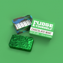 1:1 Fudge Yourself Mint Fudge, 50mg