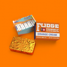 Fudge Yourself Orange Cream Fudge, 50mg
