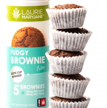 Fudgy Brownie Bites, 50mg