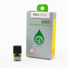 Green Dot Live Resin Pax Pod | Citrus Orange Blend 500mg Med
