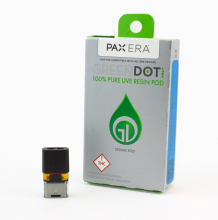 Green Dot Live Resin Pax Pod | Fruit Peach Blend 500mg Rec
