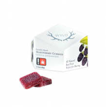 Indica Marionberry Gummies, 50mg