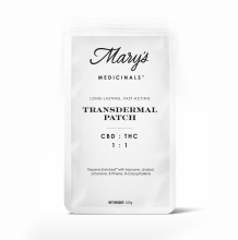 Mary's Medicinals CBD:THC Patch | 1:1 10mg Med