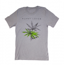 Plant Lover Tee Shirt | Grey Melange Size XL