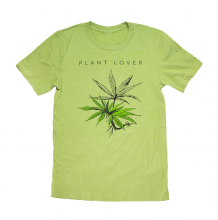 Plant Lover Tee Shirt | Heather Green Size S