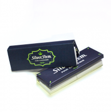 Silver Stem | 1 1/4 Magnet Pack Rolling Papers