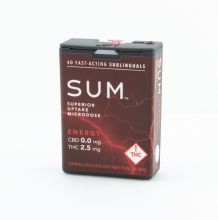 SUM Microdose Mints | Energy 100mg Rec