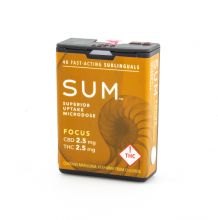 SUM Microdose Mints | Focus 1:1 100mg Med
