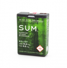 SUM Microdose Mints | Relief 30:1 20mg Rec