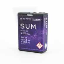 SUM Microdose Mints | Sleep 2:1 20mg Rec