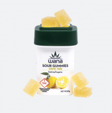 Wana Sour Gummies | Inspire Exotic Yuzu 1000mg Med